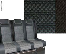 Sleeping bench VW T6 Trio Style V3000 Gr.8 3-seater Simora T6 2-colour heat exch