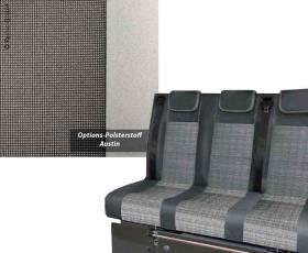 Sleeping bench VW T5 Trio Style V3000 Gr.8 3-seater pad Austin T5 2fbg.Rech