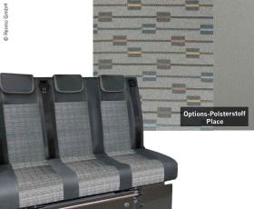 Sleeping bench VW T5 Trio Style V3000 Gr.8 3-seater upholstery Place T5 2fbg.