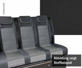 Sleeping bench VW T6 V3000 size 8 3-seater, Briks 2.fbg. right hand drive, heat exchanger.