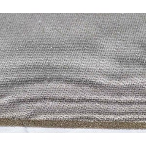 Foam laminated 8mm in beige/grey