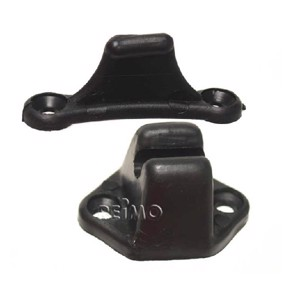 Door stay hinge black SB