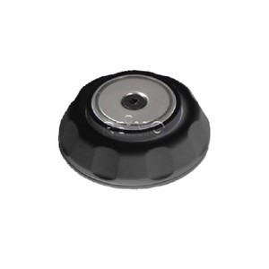 Magnetic door stop black