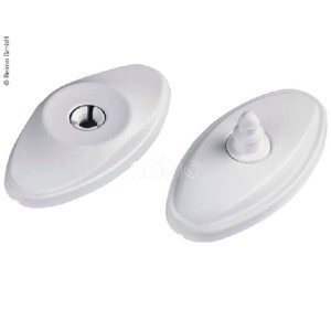 Door catch white loose
