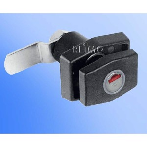 PushLock quadrate black without cylinder and key