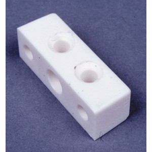 Square furniture connector (white) 10 pcs.