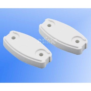 Washer plate white plastic 2 pcs.