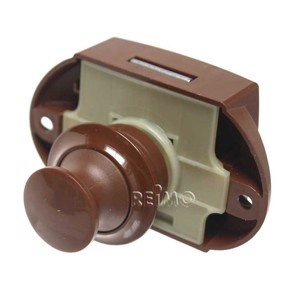 Push-Lock can be operated from both sides (brown)