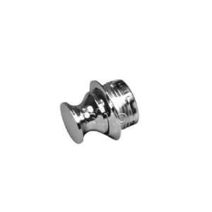 Push Lock - spare button chrome polished