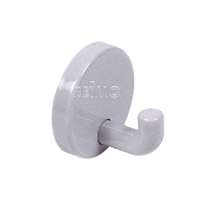Hewi wall hook 40 mm light grey