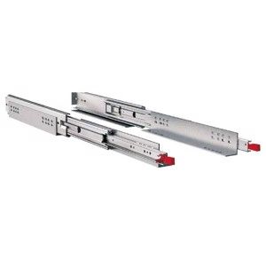 full-extension runner 965mm up to max. 250kg, 1 pair, steel, galvanized