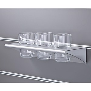 Glass holder, for 3 glasses, width 303mm