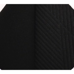 Upholstery fabric - Automotive upholstery fabric Black uni