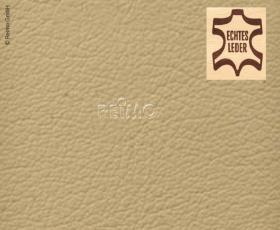 Automotive leather beige, whole skin, price per m²