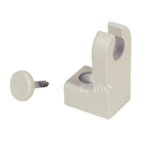 Spiral mounting kit, cream-coloured