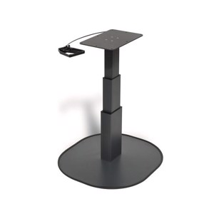 Single column lift table CATCH anthracite, H:310-670mm