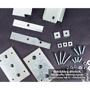Mounting kit for Grizzly slide rails, rail spacing 673mm KR/LR