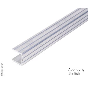 Alu U-profile 20x20x20x2mm rod 1,28m