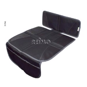 Seat cover with organizer, black
