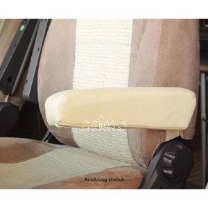 Armrest cover artificial leather beige for Ducato