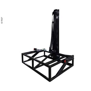 Underframe Divano 505, incl. 3 point safety belt