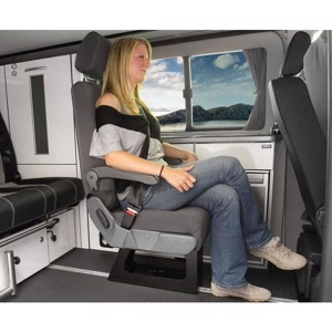 Eurosit A400, single seat with integrated three-point belt