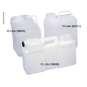 Wide neck water canister - 13l without lid
