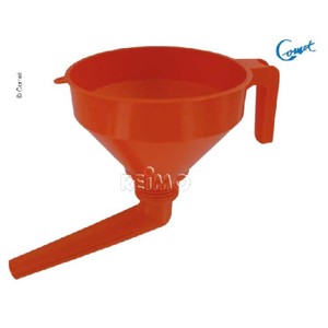 Angle funnel for fresh water tank filling