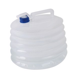 Foldable 15 litre water canister