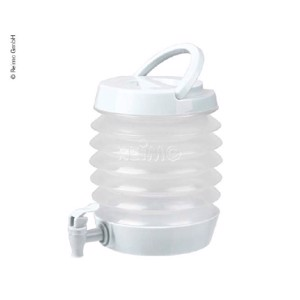 Foldable water dispenser 3.5 litres, colour: white