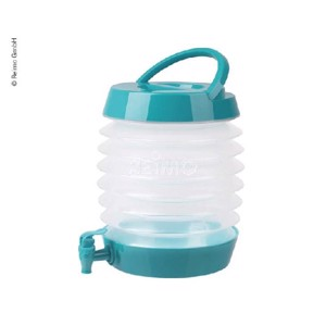 Foldable water dispenser 5,5L teal