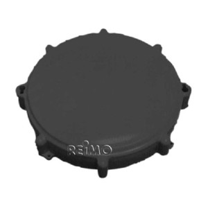 Screw-on lid Ø170mm black