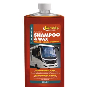 Citrus Shampoo and Wax 500ml - D,UK,DK,PL