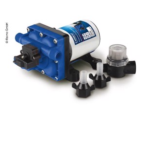 Water pump 12V, 11,3 l/min, 3,8 bar