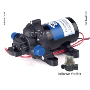 Water pump 12V, 10l/min. 2,8 bar 3,5A