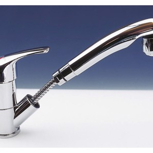 Single lever faucet Kama with combination shower chrome, with switch SB