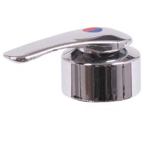 Under-table mixer Twist chrome with switch SB
