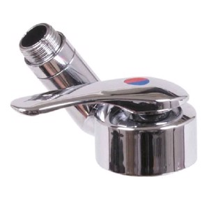 Table-top mixer Twist chrome with switch SB