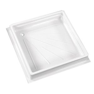 Shower tray 600x600x102 mm, white