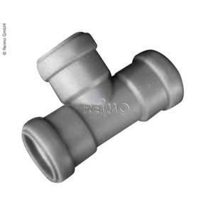 90° T-piece for 28 mm pipes