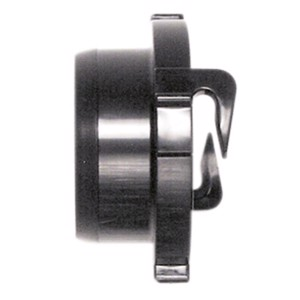 Bayonet lock for outlet hose
