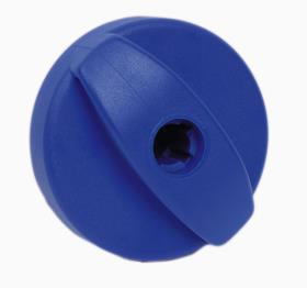 Lid filler without lock blue