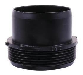 Connecting piece for hose 76/88mm