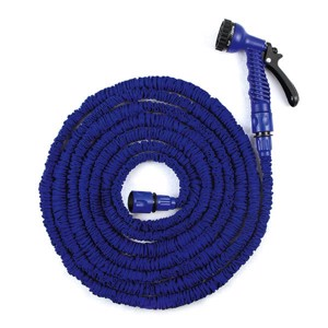 Flex-hose 7,5-22,5m w. spray gun 3/4'+