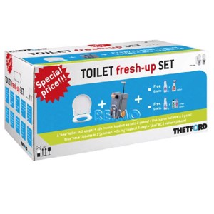 Toilet fresh-up set for C400