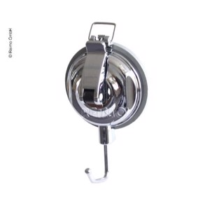 Suction hook chromed, up to 5kg, Ø56mm,