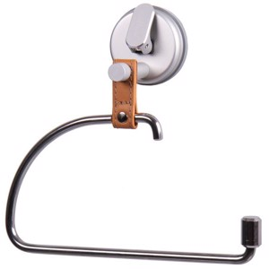 HOLIDAY TRAVEL - Towel rail/WC roll holder with suction cup
