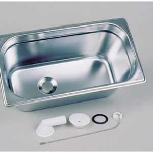 Basin stainless steel 325x176mm