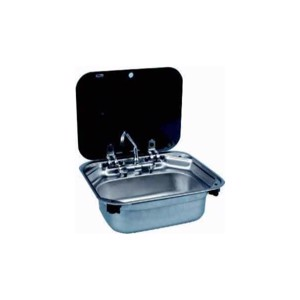 SMEV Series 8000 - Stainless steel sink 42x37