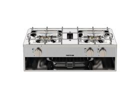 Gas cooker 2 flame 2x1,5kW Hotplate